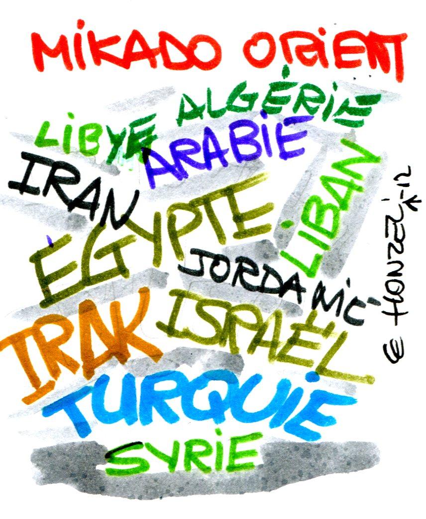 La guerre civile en Syrie dans le puzzle moyen-oriental