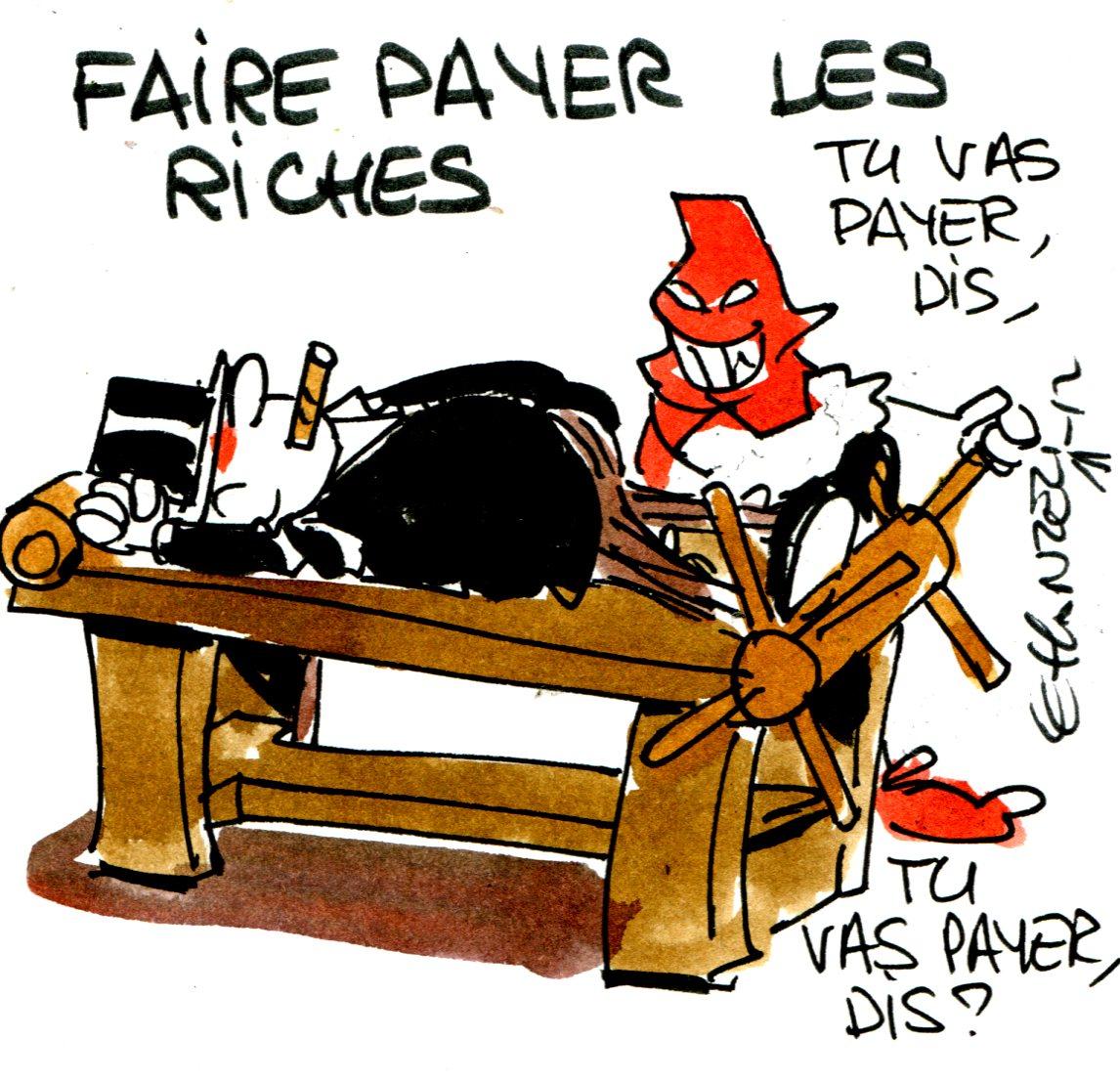 Faire payer les riches (Crédits : René Le Honzec/Contrepoints.org, licence CC-BY 2.0)
