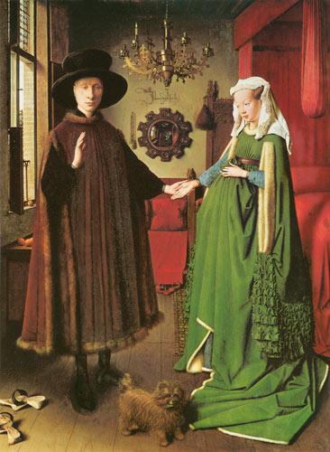 Jan van Eick : mariage de Giovanni Arnolfini