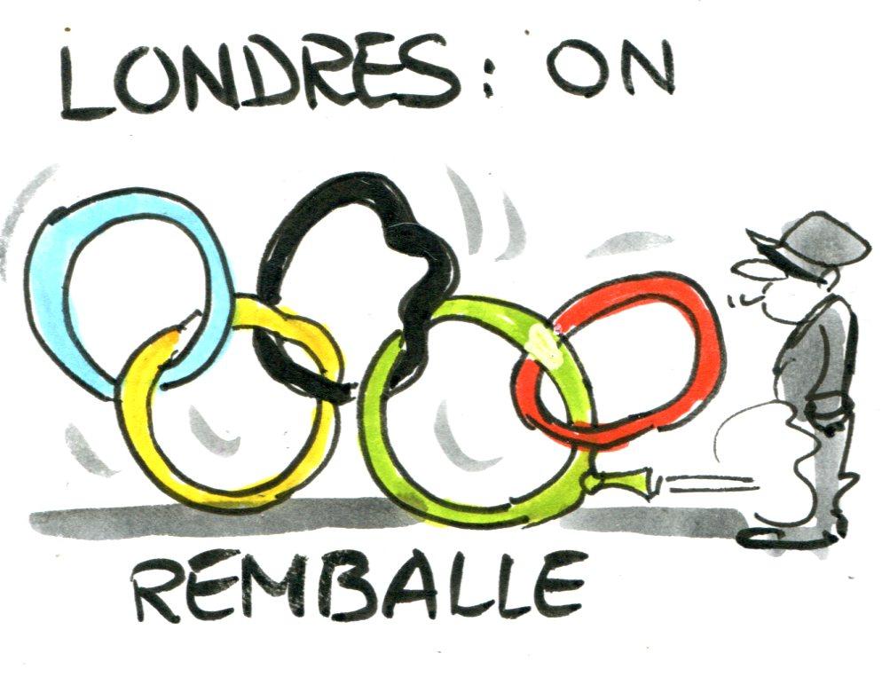 Le Honzec - jeux olympiques de Londres 2012