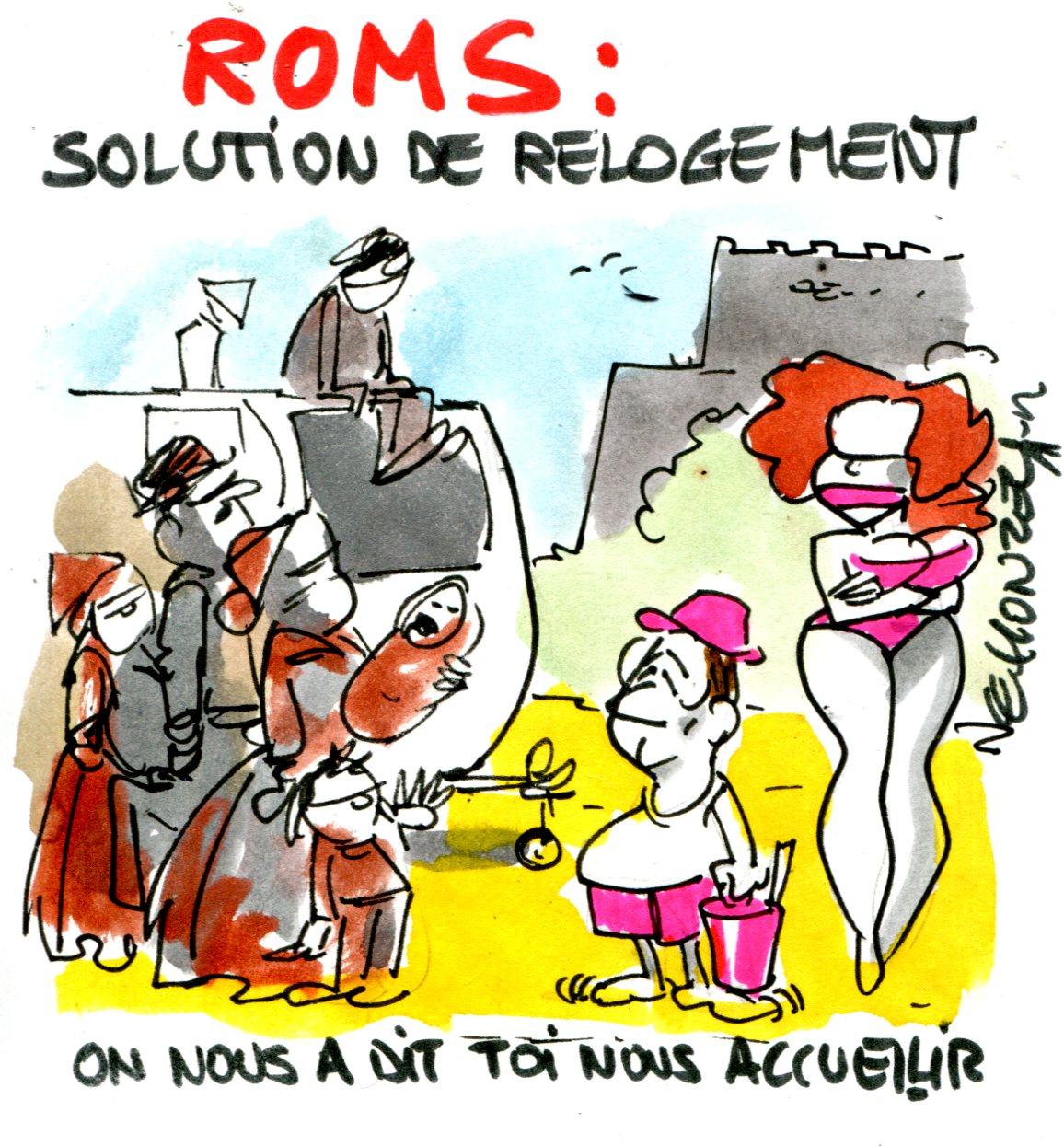 le honzec - expulsions de roms par Hollande