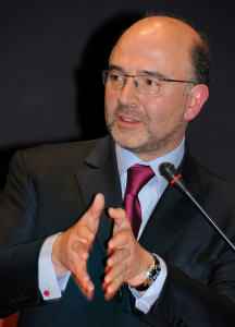 Pierre Moscovici, ministre de l'économie (Photo Charles Hendelus, Creative Commons)
