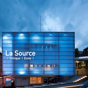 La clinique de La Source à Lausanne.