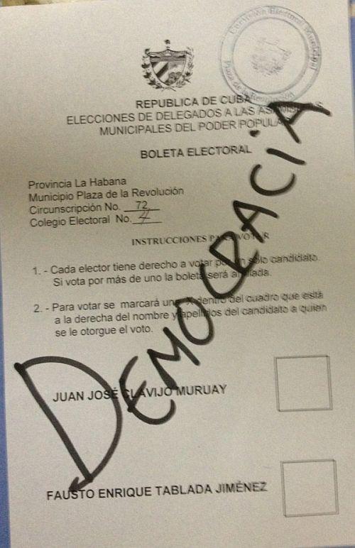 Parodie de d mocratie cuba contrepoints - Trouver mon bureau de vote ...