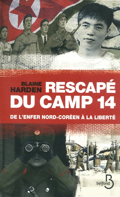 """Couverture du livre """"Rescapé du camp 14"""""""