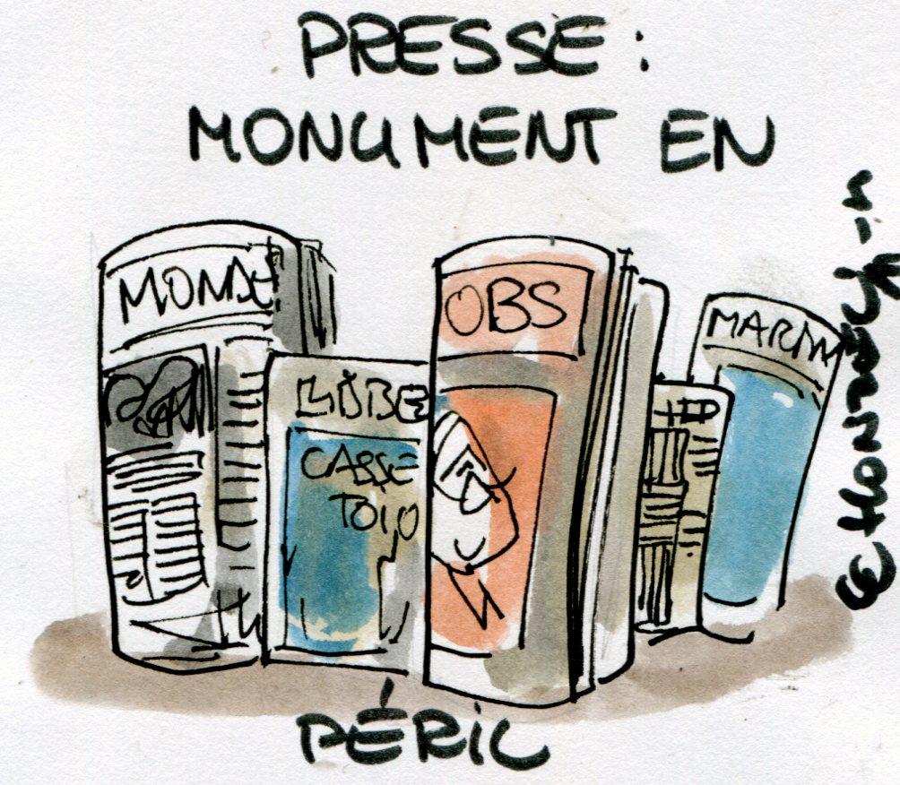 Grandeur et décadence de la presse écrite