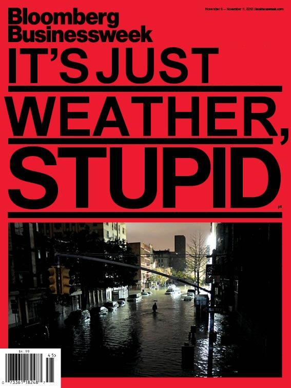 Sandy causé par le réchauffement climatique, M. Bloomberg ?