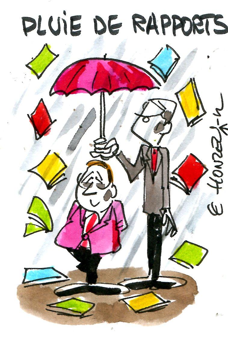 Gallois, FMI : des rapports comme s'il en pleuvait