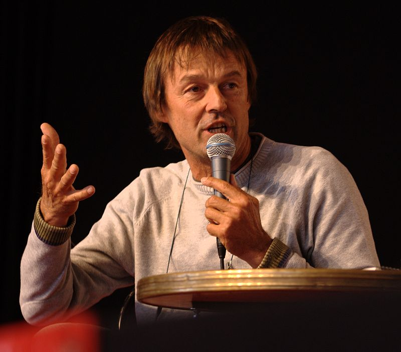 Nicolas Hulot (Crédits Olivier Tétard, licence Creative Commons)