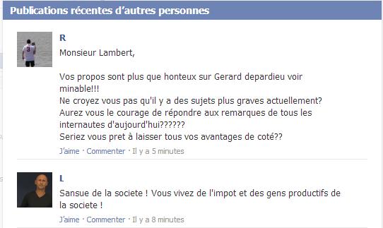 Depardieu : le député socialiste Jérôme Lambert appelle à confisquer les biens de l'acteur