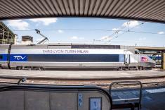 TGV Paris Milan (Crédits Stefano Bertolotti licence Creative Commons)