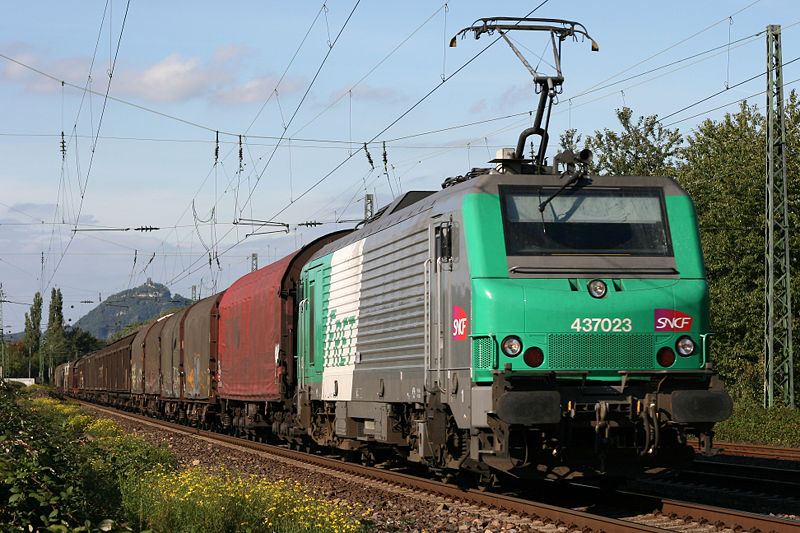 Train de Fret SNCF (Creative Commons, Thomas Wolf)