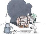 L'éléphant, la crise et la souris. Conte philosophique