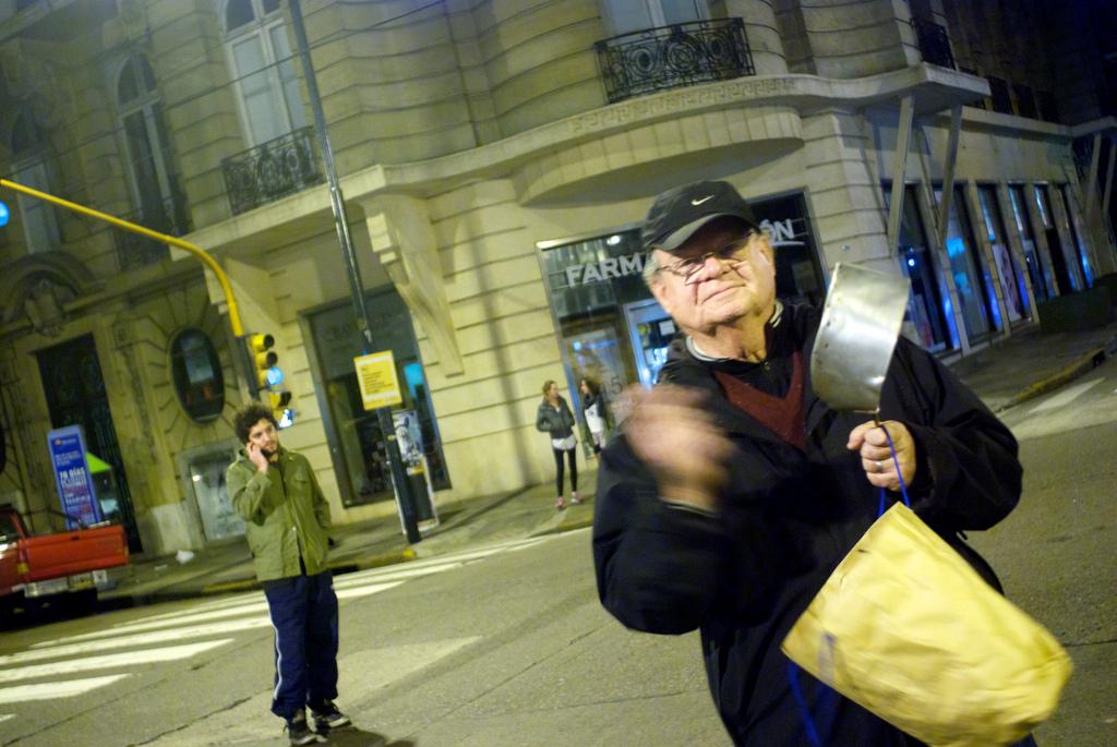 Révolte des Casseroles contre Cristina Kirchner (Crédits Beatrice Murch, licence Creative Commons)