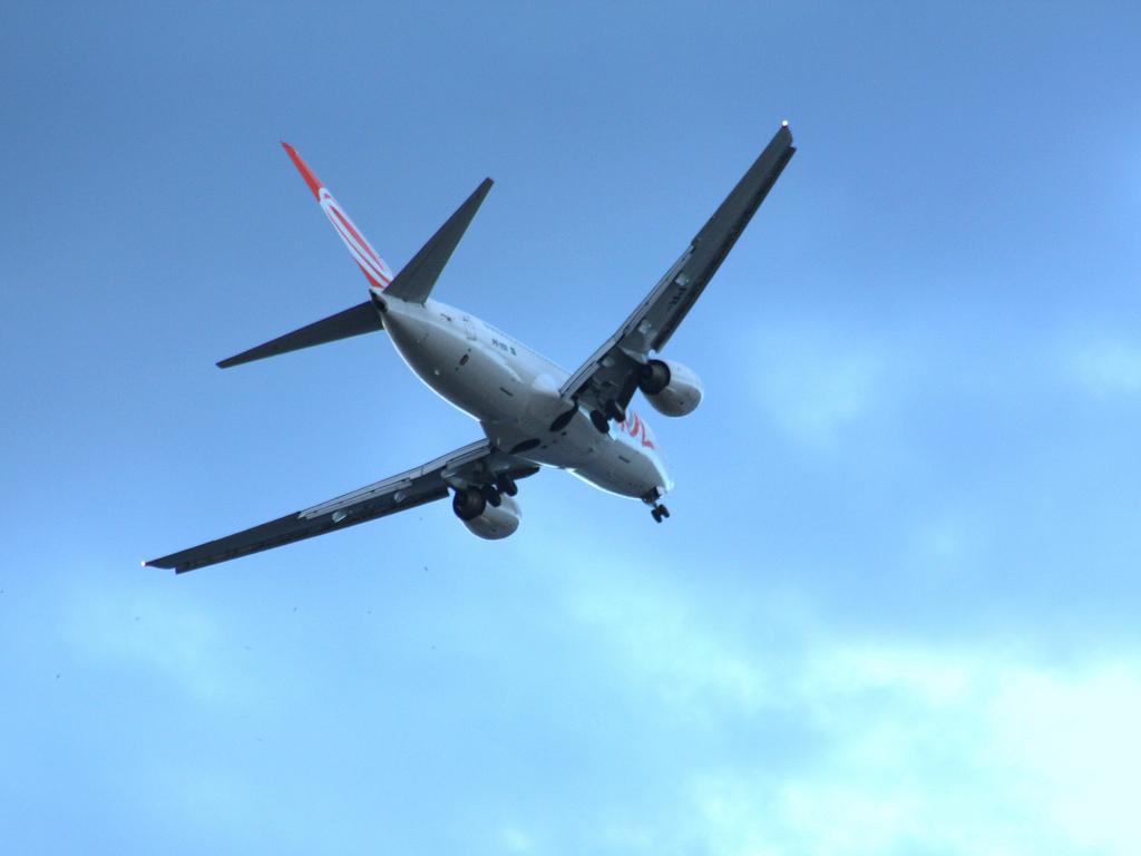 Départ d'avion (Crédit : Gabriel Rocha, Creative Commons)