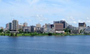 Vue d'Abidjan, capital économique de la Côte d'Ivoire