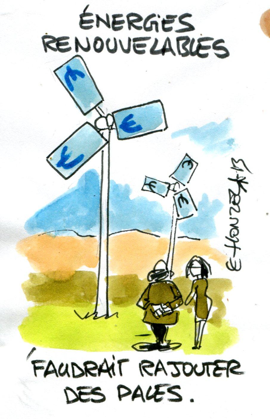 Énergies renouvelables : les factures trop salées d'EDF