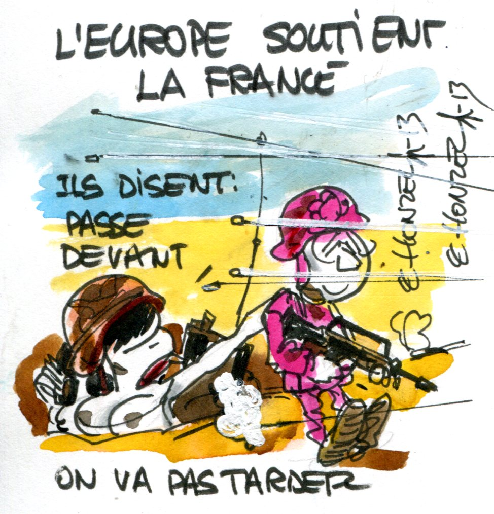 L'UE suivra-t-elle la France dans le désert Malien ?