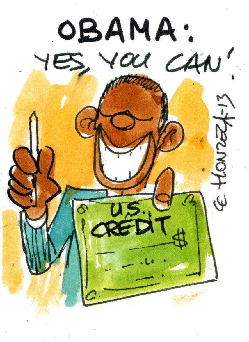 Les États-Unis relancent la consommation... à crédit !