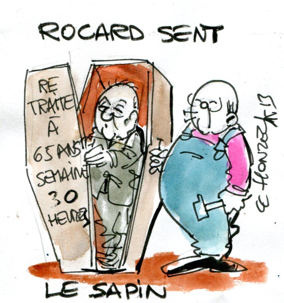 Rocard et Sapin, les deux Michels d'un État plus qu'en faillite