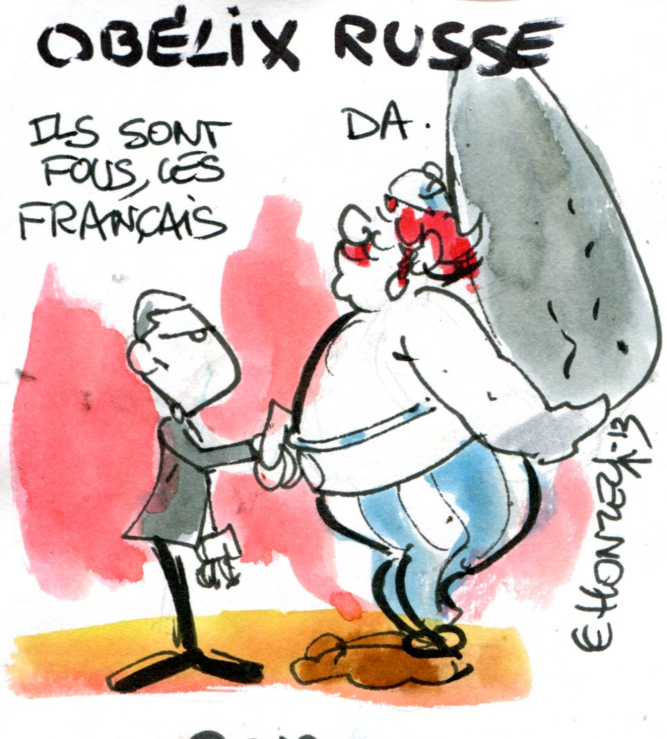 Depardieu : bon baiser de Russie