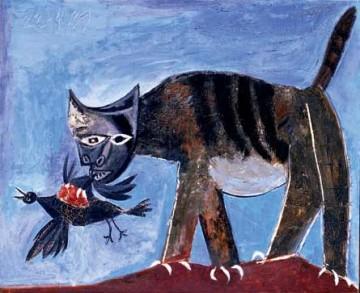Scoop : les chats mangent des oiseaux