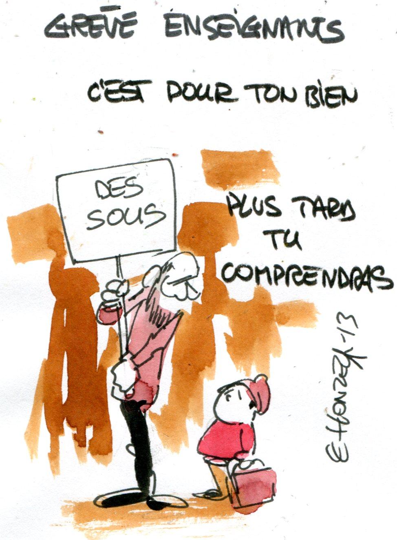 imgscan contrepoints 2013509 Grève enseignants