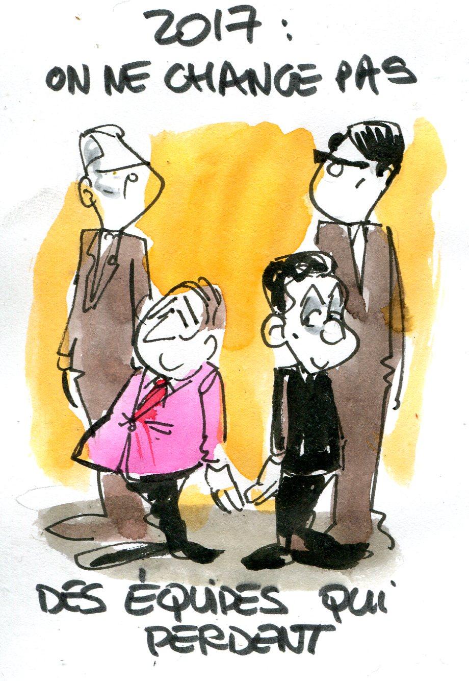Au secours, la droite souhaite le retour de Sarkozy !