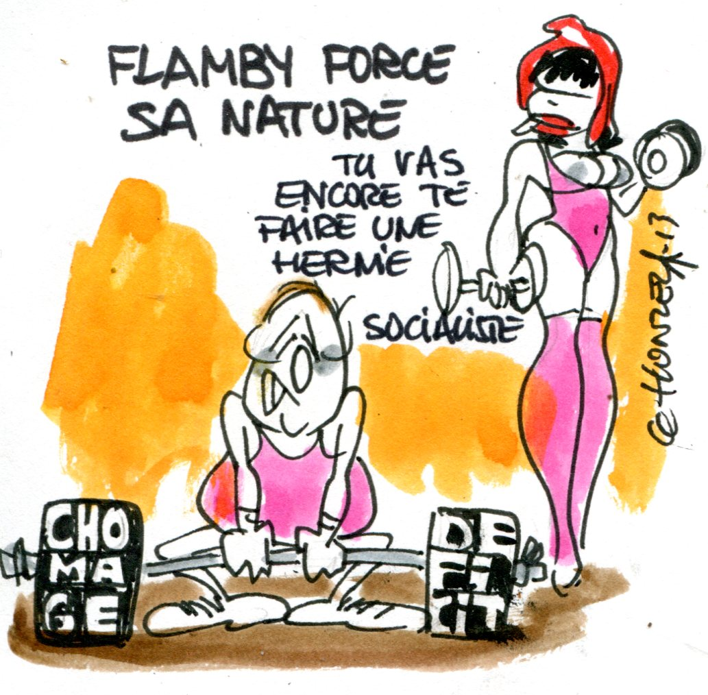 Hollande veut forcer sa nature