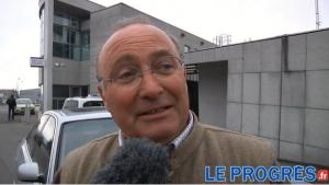 Xavier Kemlin en mars 2013, lors de son dépôt de plainte à Saint-Étienne