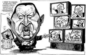 Chavez vs Thatcher, libéralisme vs socialisme
