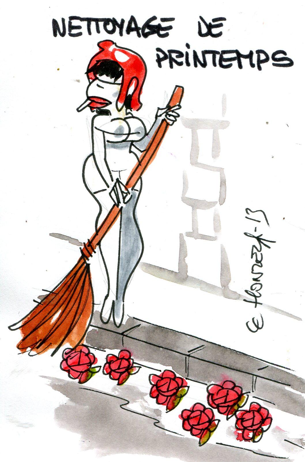 Grand nettoyage de printemps pour la classe politique
