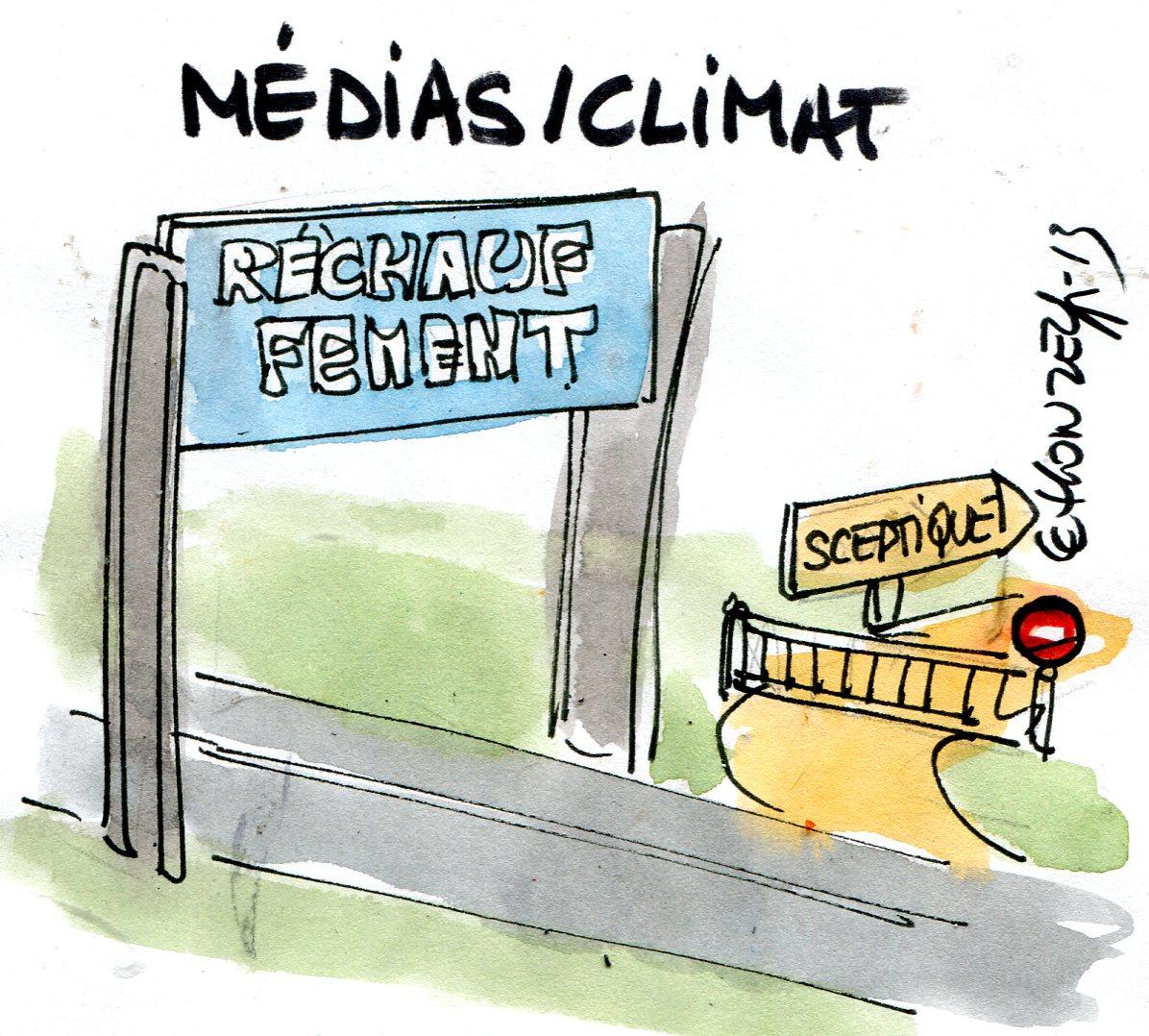 Conférence à l'Académie belge des sciences : deux poids deux mesures sur le climat