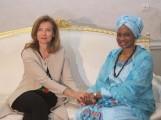 Valérie Trierweiler la première quidame au Mali à la barbe des protocoles