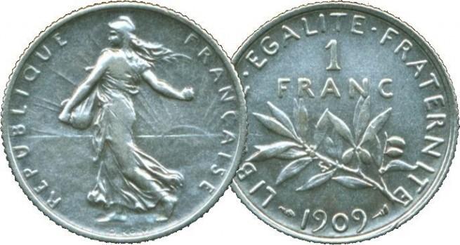 Le franc de 1945 à 1998 : l'ère de Bretton Woods