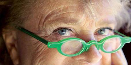 Des lunettes vertes à changer ?