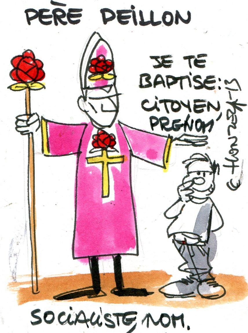 Vincent Peillon le laïcard singe la religion chrétienne