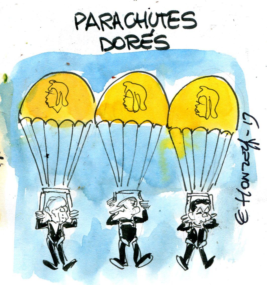 Privilèges : VGE, Chirac et Sarkozy remercient les contribuables !