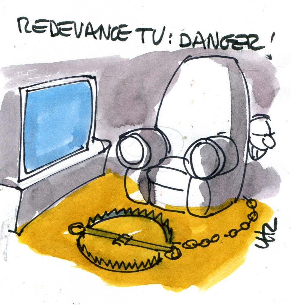 Redevance tv danger !