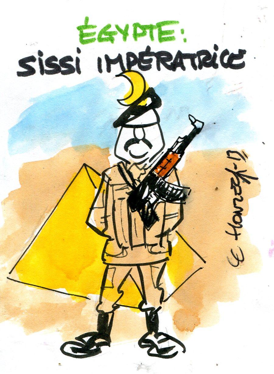 Le maréchal Al Sissi au pouvoir en Egypte