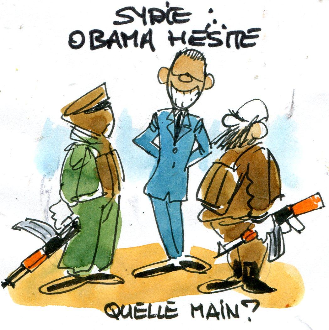 À quoi joue l'administration Obama en Syrie ?