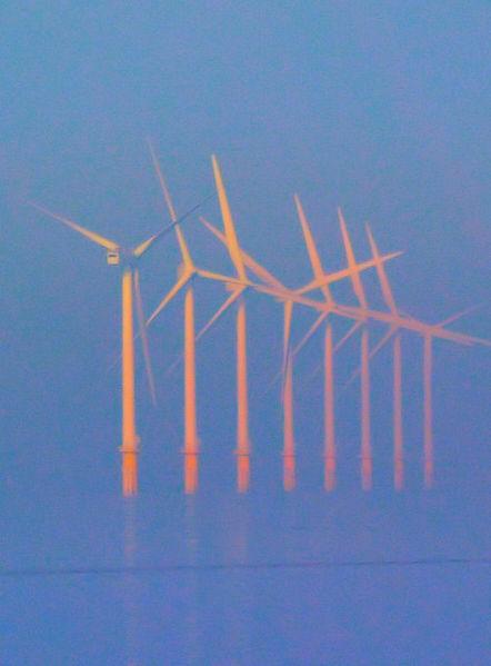 Comparaisons éolien terrestre/ éolien marin à Fécamp