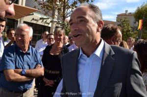 Jean-François Copé à Chateaurenard le 25 août 2013