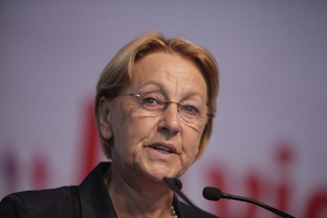 Marylise Lebranchu, ministre de la Fonction Publique (Crédits ; Philippe Grangeaud/Solfé Communications, CC BY-NC-ND 2.0)