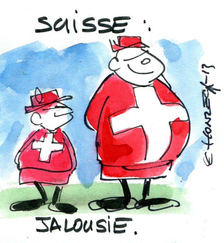 Limitation des écarts de salaires : une initiative suisse fondée sur la jalousie