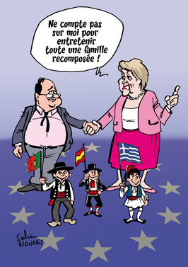 Couple franco-allemand ou famille européenne ?