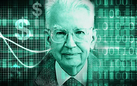 Ronald Coase, prix Nobel d'économie décédé en 2013