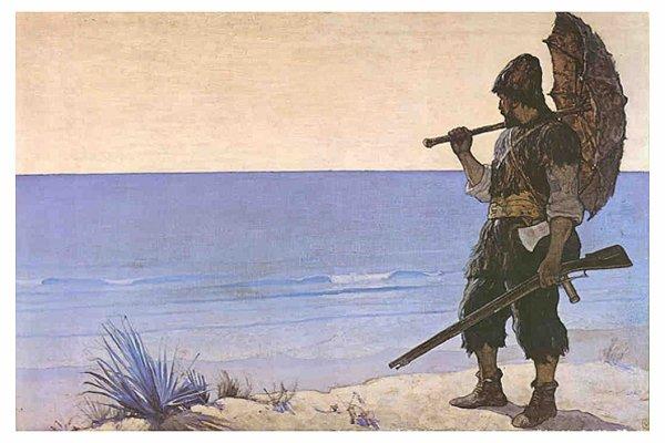 Robinson et la soci t contrepoints - Mercredi robinson crusoe ...