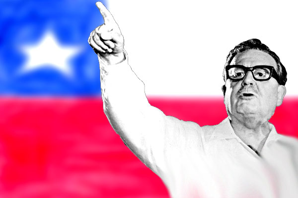 Salvador Allende - Photo Jorge Miente (CC BY-NC-ND 2.0)