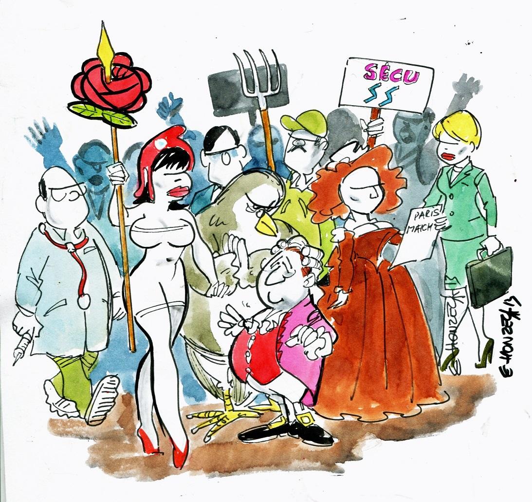 Le fossé entre les Français et les politiques